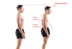 Como corrigir a postura para ficar mais alto